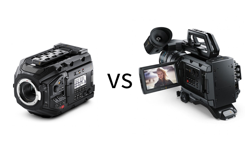 BLACKMAGIC URSA MINI PRO VS URSA MINI 4.6K