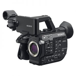 Alquiler de cámara sony fs5 en Barcelona